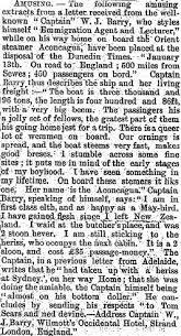 Otago Witness' arrivals 1879 - first six months