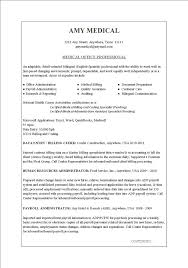 Sample Medical Assistant Resumes Examples Of Medical Assistant ...