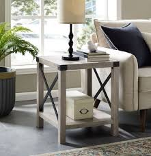side table decor living room