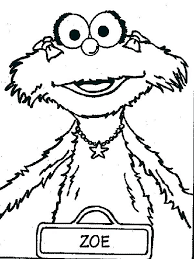 Free Printable Sesame Street Coloring Pages Coloring Page Top Free