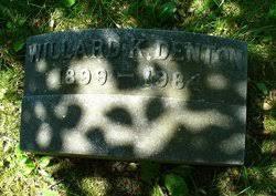 Willard Kirkpatrick Denton (1899-1984) - Find A Grave Memorial