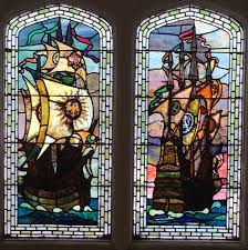 whitsand bay hotel cornwall england interesting nautical stained glass