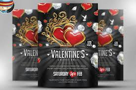 Valentines Flyers Most Popular Valentines Day Flyer Template Deals Out There