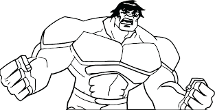 Hulkbuster Coloring Pages Printable To Print Free Hulk Online The
