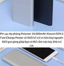CẢ KHO BÁN VỐN ] Pin Sạc Dự Phòng Xiaomi Pin Dự Phòng Mi Pro 10000mAh Sạc  Dự Phòng Xiaomi 10000mah Nhỏ Gọn Tiện Lợi Và An toàn Thiết Kế Gọn