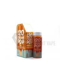 120 cream pop by mad hatter juice 120ml