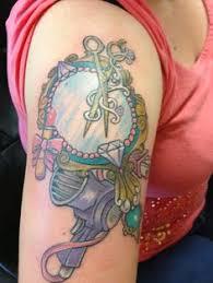 hand holding mirror tattoo. Contemporary Mirror Mattjordantattoos 3D Vintage Handheld Mirror  Tattoos Pinterest Hand  Holding 3d And Tattoo In Holding Mirror