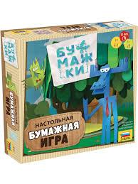 <b>Настольная игра</b> Бумажки <b>Звезда</b> 8753561 в интернет-магазине ...