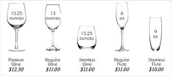 Wine Glass Size Chart Wine Glass Sizes Related Keywords Suggestions Wine Glass