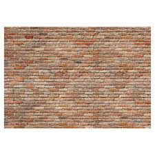 Exposed Brick Wall Provincial Wallcoverings 8 741 Exposed Brick Wall Mural Lowes