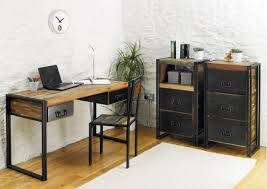 industrial style office desk. Image Of: Making Industrial Furniture Ideas Style Office Desk T
