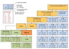 Dna Chart For Half Siblings Understanding Genetics