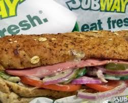 why people use subway nutritional value