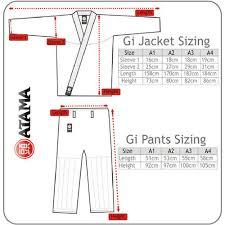 Atama Size Chart Atama Mundial 9 Gi A4 Size Only Arte Suave Shop