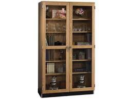 lab storage case with glass doors