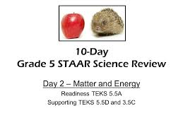10 Day Grade 5 Staar Science Review Ppt Video Online Download