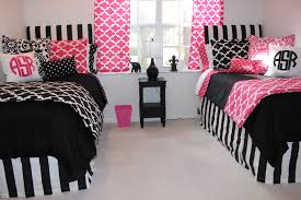 Pink Black Bedroom White And Pink Bedroom Chic Pink Bedroom Curtains Girls Wooden