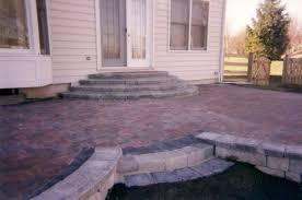 ... Epic Home Exterior Design Ideas Using Patio Brick Design : Simple And  Neat Home Exterior Decor ...