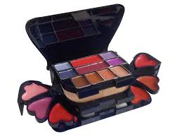 ads color series makeup kit 8 eyeshadow 1 power cake 8 lip color 2 blusher color may vary 22g