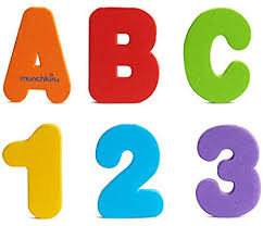 Munchkin Letters And Numbers Bath Toys 36 Count
