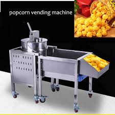 Popcorn Express Vending Machine Best Automatic Kettle Popcorn Vending Machine With Wheels Popcorn Machine
