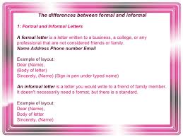 formal and informal language 5 the differences between formal