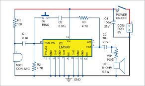 schematic diagram intercom circuit using lm390 wiring diagram sch schematic circuit diagram intercom pdf wiring diagram show schematic diagram intercom circuit using lm390