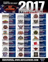 hot leathers 2017 event schedule