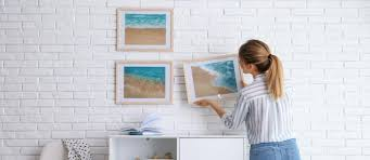 hanging pictures on drywall with or