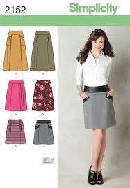 Simplicity Skirt Patterns Best Simplicity 48 Misses Skirt