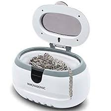 magnasonic professional ultrasonic polishing jewelry cleaner machine for cleaning eyegles watches rings necklaces
