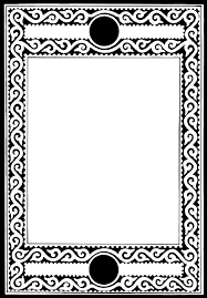 black frame png. Brilliant Png Black And White Frame For Scrapbooking Other Creative Projects In Png S