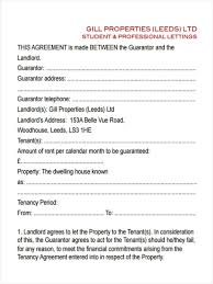 Joint Tenancy Agreement Form Image Collections Agreement Example