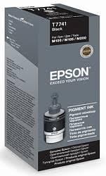 Контейнер с черными <b>чернилами Epson</b> T7741 для <b>M100</b>, M200 ...