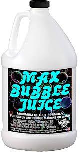 Froggys Fog - 1 Gallon - MAX Bubble Juice Fluid - 10x ... - Amazon.com