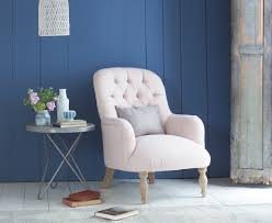 Pink Bedroom Chair Flump Bedroom Chair High Button Back Armchair Loaf