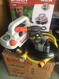 Bảng giá Máy rửa xe Ergen EN-6728 (có điều chỉnh áp lực) Máy rửa xe mini  gia đình công suất 2800W moter lõi đồng