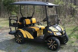 pittsburg steelers golf cart ezg 117