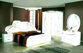 Alluring Lane White Lacquer Bedroom Set Home Improvement Stores In ...