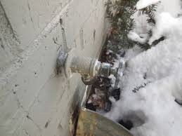 Dont Let Your Outside Faucets Freeze - Exterior drain pipe