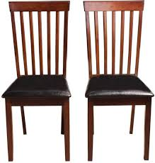 Image Solid Wood Woodness Solid Wood Dining Chair set Of 2 Finish Color Wenge Flipkart Woodness Solid Wood Dining Chair Price In India Buy Woodness Solid