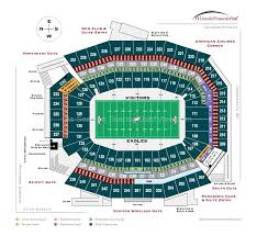 Kenny Chesney Seating Chart Lincoln Financial Field Lincoln Financial Field Philadelphia Pa