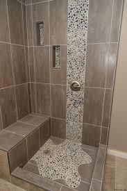 glass tile shower floor best of diy pebble tile great stone flooring best pebble stone bathroom