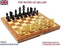 Wooden Board Games Uk Premium Wooden Chess Only 10000in100 ChessCheckersBackgammon Sets 69