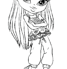 Printable Copic Coloring Pages Coloring Pages Dolls Coloring Pages