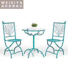 get ations three outdoor wrought iron tables and chairs leisure furniture wujiantao bination coffee table and chairs garden
