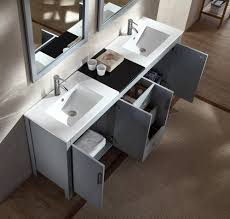 gray double sink vanity. ariel hanson 72\ gray double sink vanity