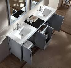 gray double sink vanity. ariel hanson 72\ gray double sink vanity
