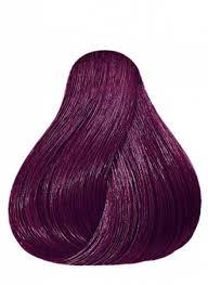 Wella Purple Colour Chart Pin On Fall Hair