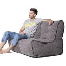 grey twin couch bean bag sofa